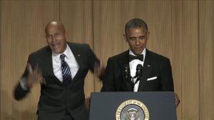 President Obama and Anger Translator Luther