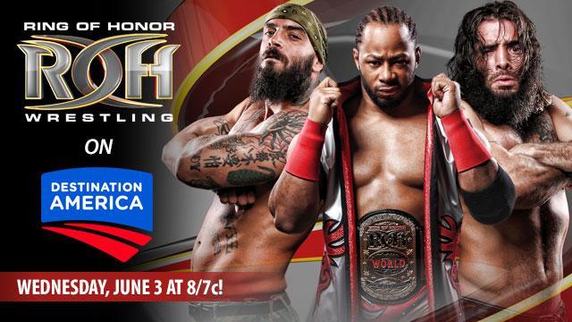 ROH Wrestling Coming to Destination America
