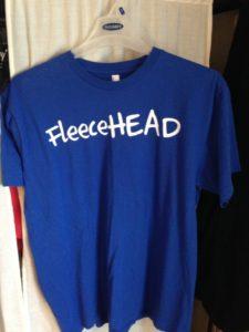 FleeceHEAD Blue T-shirt by American Apparel