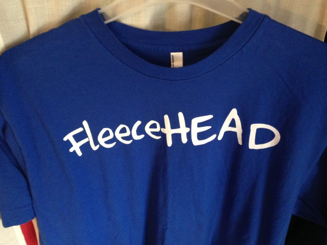 FleeceHEAD t-shirts are HERE!