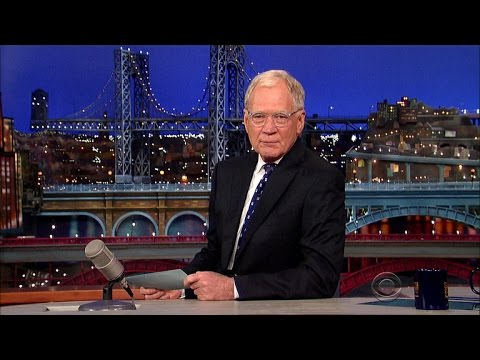 David Letterman's FINAL Top 10 List of The Late Night Show