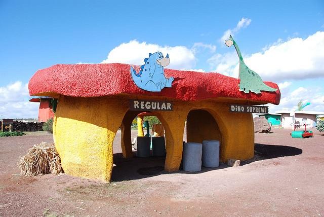 Flintstones Bedrock City in Arizona on Sale for $2 Million, Brontosaurus Included