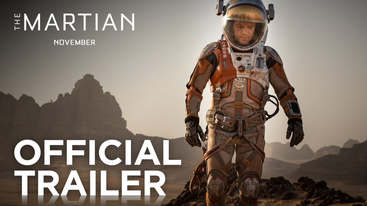 The Martian | Official Trailer [HD] | 20th Century FOX