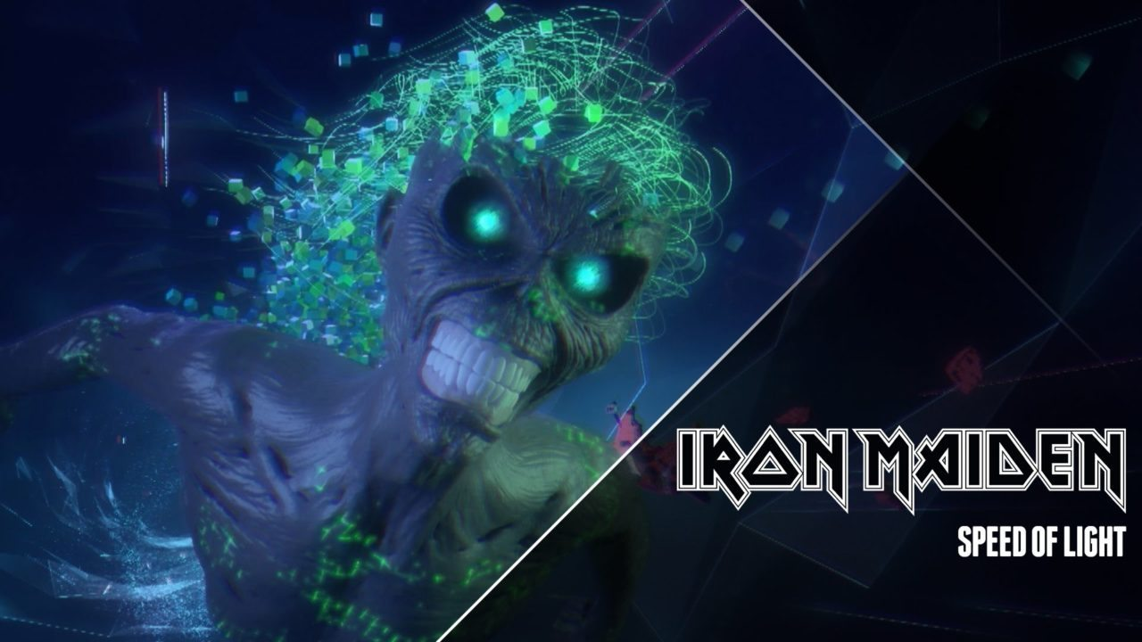 Iron Maiden – Speed Of Light (Official Video)