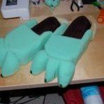 Wolfun - feet bare